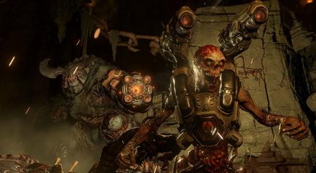Постер на подрамнике Doom 4
