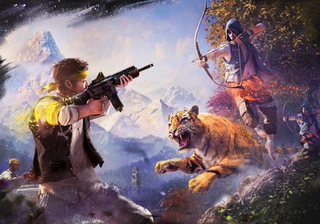 Постер на подрамнике Far Cry 4