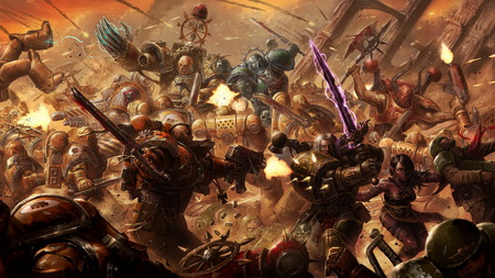 Постер (плакат) Warhammer