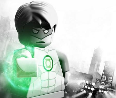Постер на подрамнике Lego Batman 2: DC Super Heroes