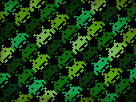 Плакат Space Invaders