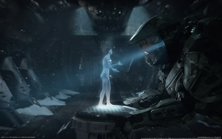Плакат Halo 4