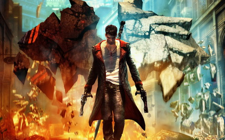 Постер на подрамнике Devil May Cry