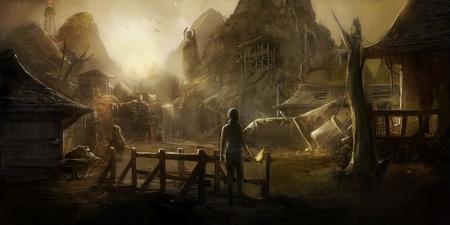 Постер на подрамнике Tomb Raider