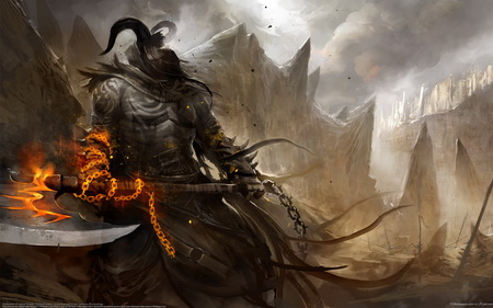 Постер на подрамнике Guild Wars