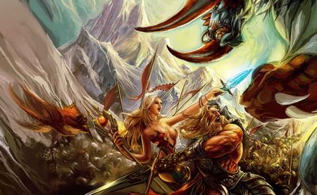 Постер на подрамнике Runes Of Magic