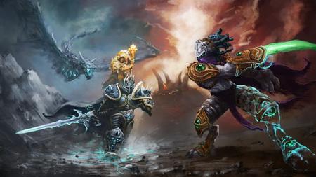 Постер на подрамнике Heroes Of The Storm
