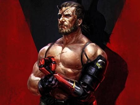 Плакат Metal Gear Solid V: The Phantom Pain