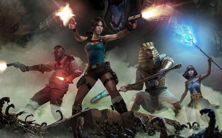 Постер на подрамнике Lara Croft And The Temple Of Osiris
