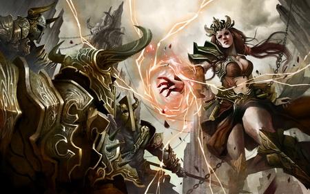 Постер на подрамнике Diablo III