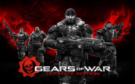 Плакат Gears Of War