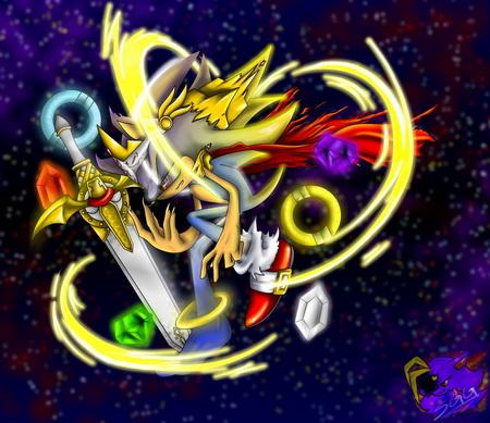 Плакат Sonic The Hedgehog