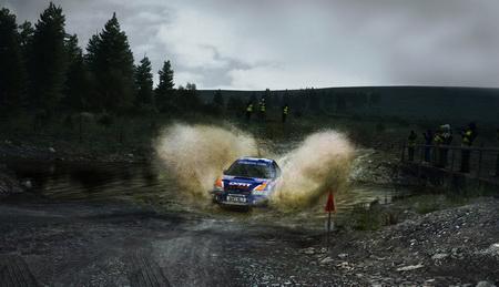 Постер на подрамнике DiRT Rally