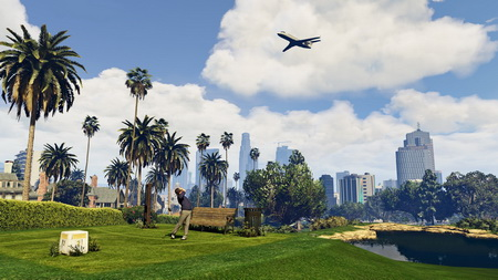 Плакат Grand Theft Auto V