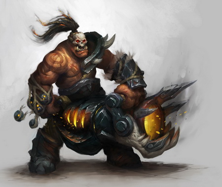 Постер на подрамнике World Of Warcraft: Warlords Of Draenor