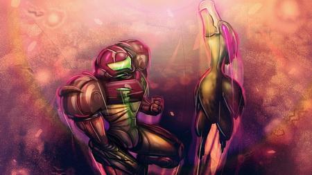 Постер на подрамнике Metroid