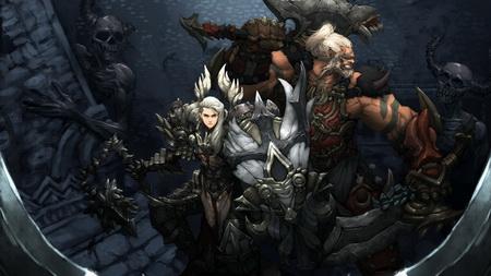 Постер на подрамнике Diablo III: Reaper Of Souls