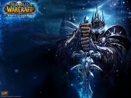 Постер на подрамнике World Of Warcraft: Wrath Of The Lich King
