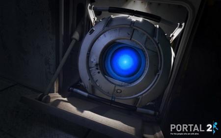 Постер на подрамнике Portal 2