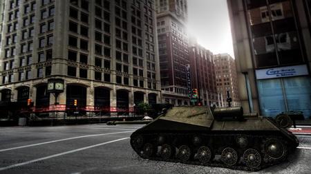 Постер на подрамнике World Of Tanks