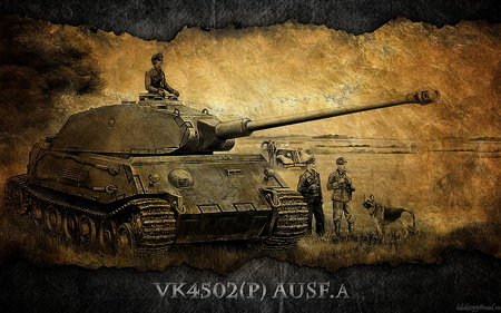 Плакат World Of Tanks