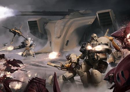 Плакат Warhammer
