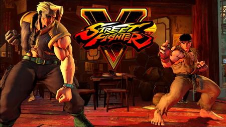 Плакат Street Fighter V
