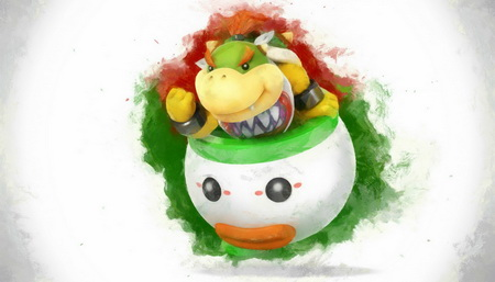 Плакат Super Smash Bros.