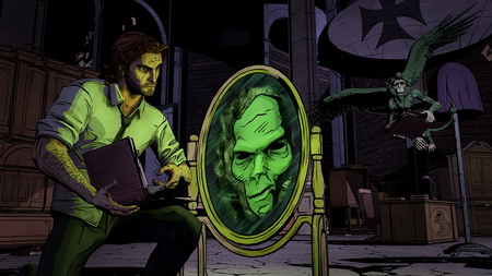 Постер на подрамнике The Wolf Among Us
