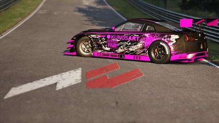 Постер на подрамнике Assetto Corsa