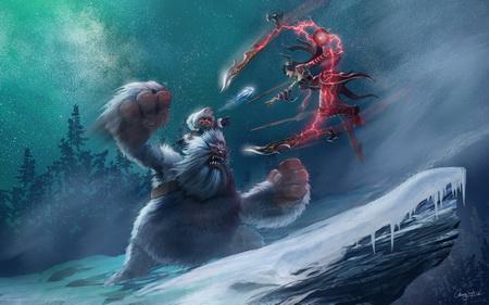 Постер на подрамнике League Of Legends
