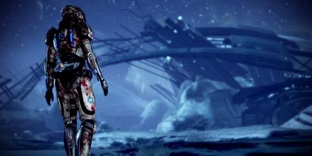 Постер на подрамнике Mass Effect
