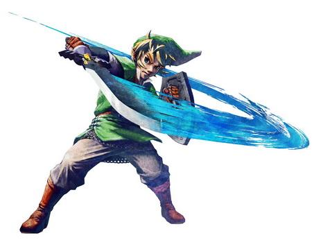 Постер на подрамнике The Legend Of Zelda: Skyward Sword