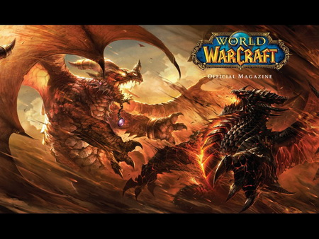 Постер на подрамнике World Of Warcraft