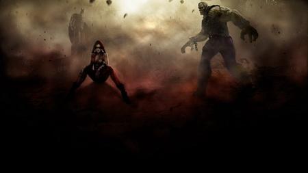 Плакат Injustice: Gods Among Us