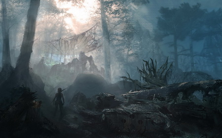 Плакат Tomb Raider