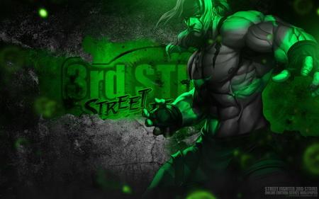 Плакат Street Fighter