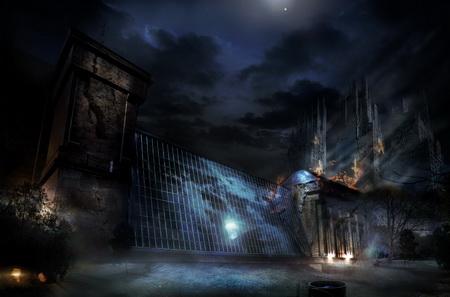 Постер на подрамнике Alone In The Dark