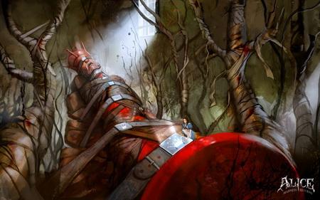 Постер на подрамнике Alice: Madness Returns