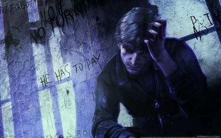 Постер на подрамнике Silent Hill