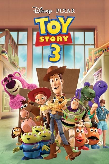 Постер (плакат) История игрушек (Toy story)