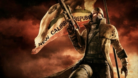 Постер на подрамнике Fallout