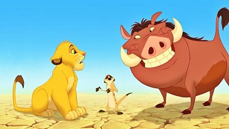 Постер на подрамнике Король лев