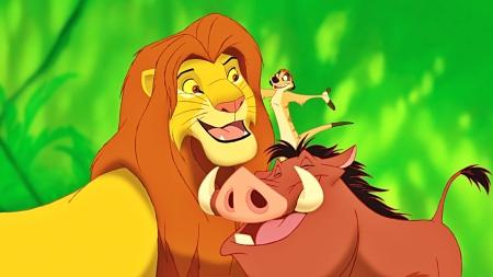 Постер (плакат) Симба, Тимон и Пумба