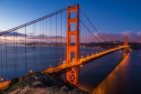 Постер на подрамнике Мост Golden Gate в Сан-Франциско