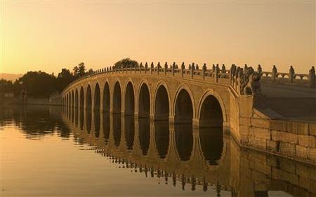 Постер на подрамнике Мост Marco Polo в Пекине