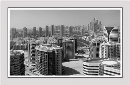 Постер (плакат) Panorama Dubai - Панорама Дубаи