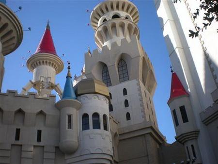 Постер на подрамнике Hotel Excalibur in Las Vegas - Отель Экскалибур в Лас Вегасе