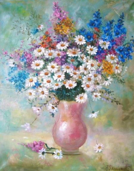 Плакат Букет полевых цветов