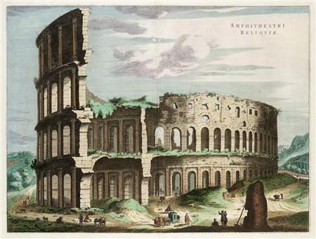Постер на подрамнике Колизей в Риме. Италия.